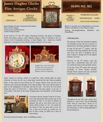 www.jameshughesclocks.com - Antique Clocks