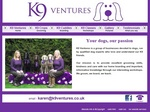 www.k9ventures.co.uk - Canine Care